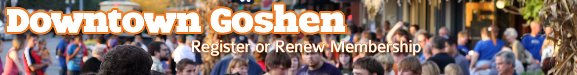 Downtown Goshen Membership