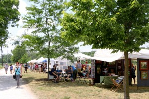Arts on the Millrace • Downtown Goshen, Indiana