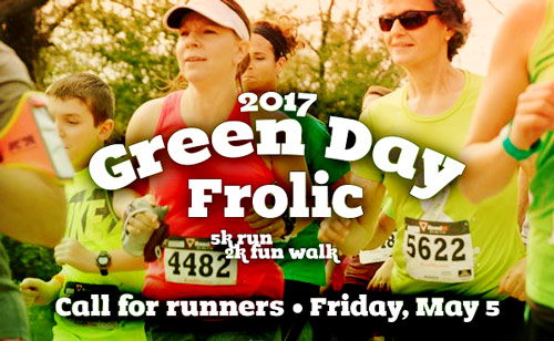 Green Day Frolic • Call for Runners