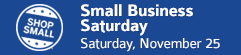 Small Business Saturday • Saturday, November 25 • Goshen, Indiana
